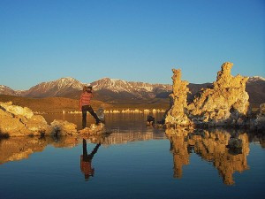 Scott at Mono Lake