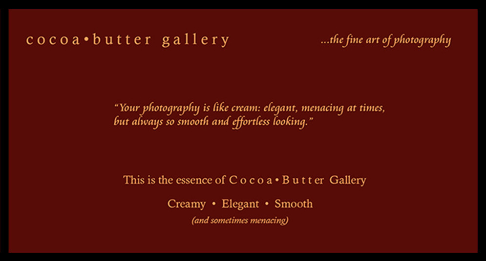 Cocoa Butter Gallery: Creamy Elegant Smooth