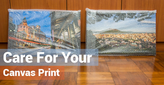 Care For Your Canvas Print