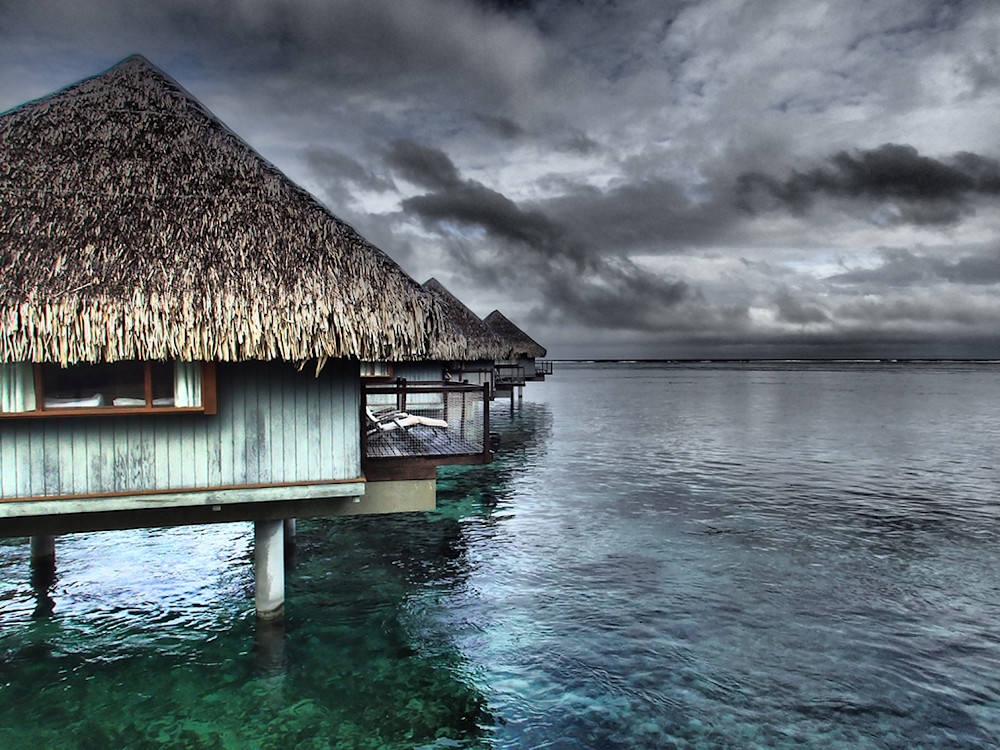 Valentine's Day Gift Guide - Tahiti Bungalows Custom Canvas Prints