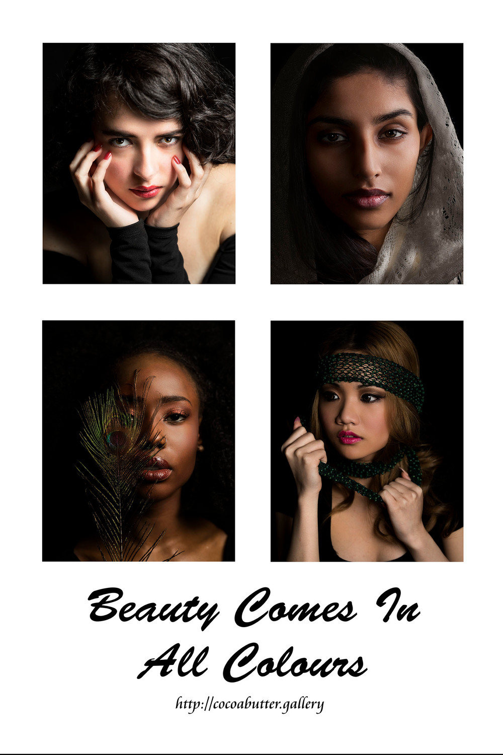 beauty comes in all colours
