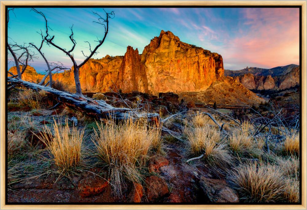 Rock Wall Sunrise