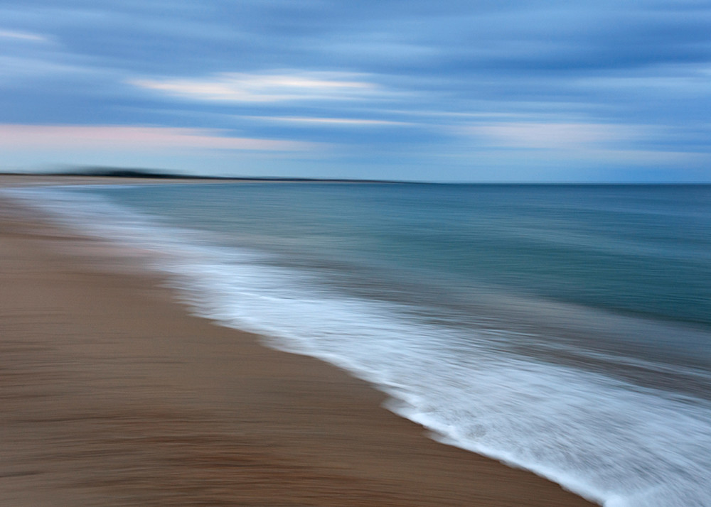weekapaug beach, westerly, ri, rhode island, abstract, seascape, landscape, photography, photograph, print, blue, purple, teal, ocean