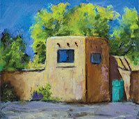 Pastel Paintings of Northern New Mexico by Anabel Hopkins, gallery406, Bloomington, Indiana