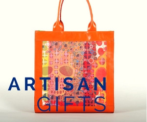 Artisan gifts featuring unique one-of-a-kind handbags and purses.