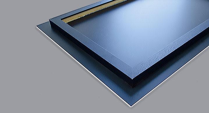 Facemount Acrylic Printing - hanging system