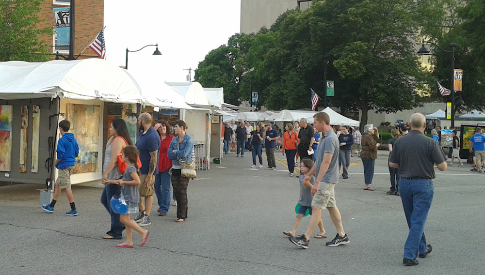 Art on the Square festival.