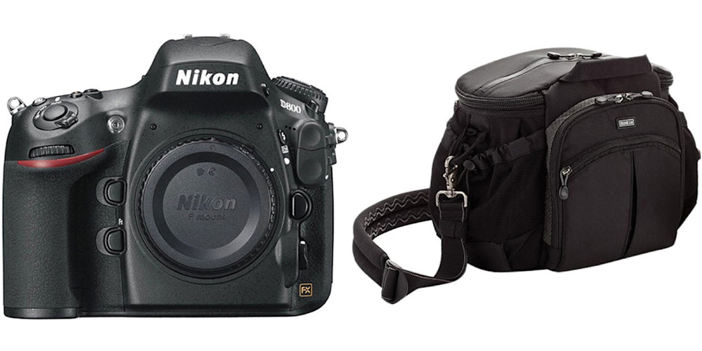 Nikon D800 and Think Tank Speed Freek