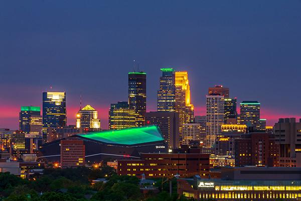 Moneyapolis - Minneapolis is green
