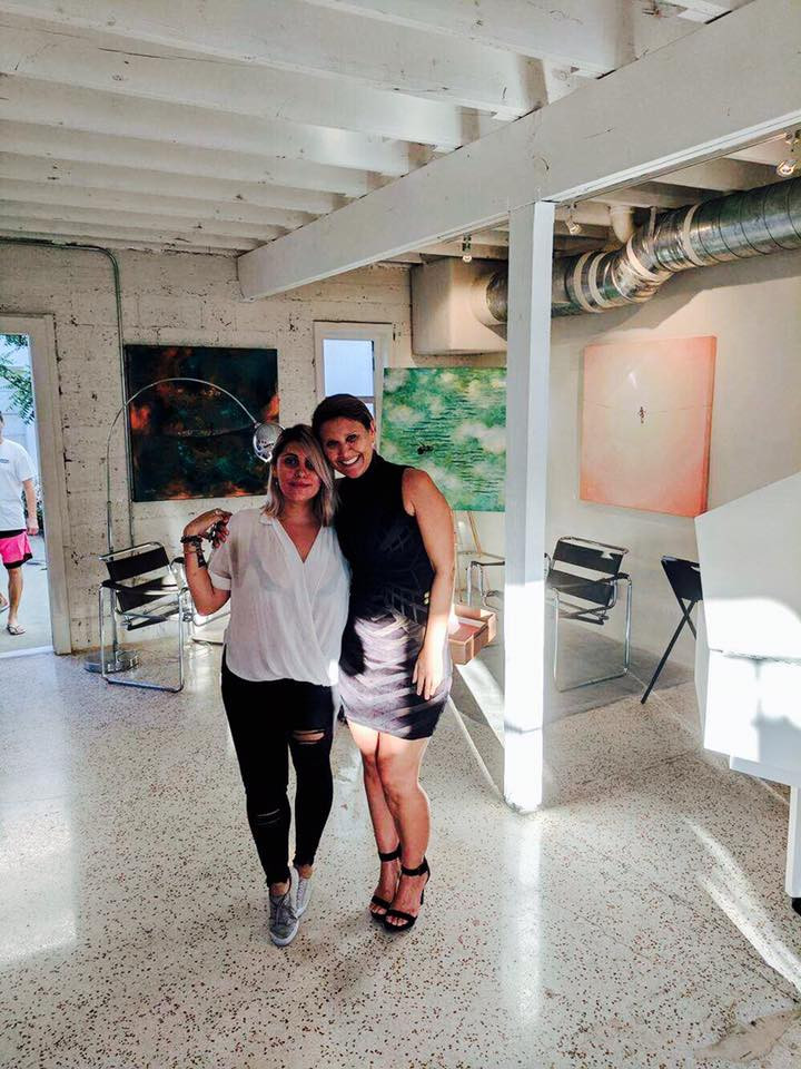 Sophie Bonet and Gabriela Esquivel at Village Design Art Gallery