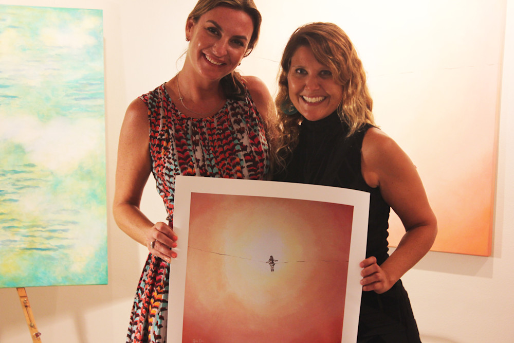 Kelly Goethals and Gabriela Esquivel at Village Design Art Gallery