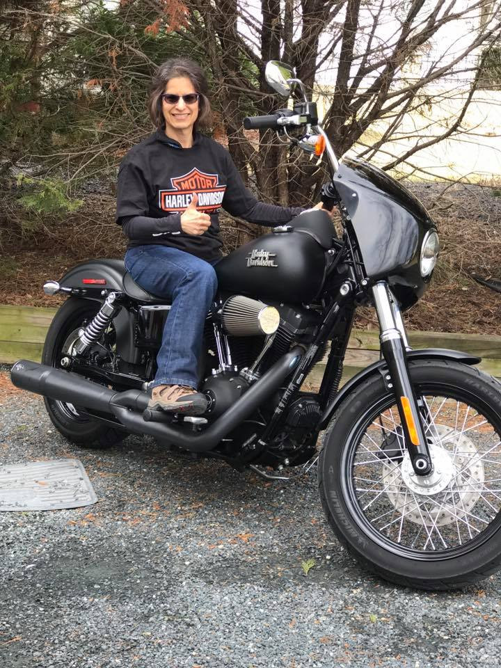Harley Davidson street bob, recovery art, clean and sober