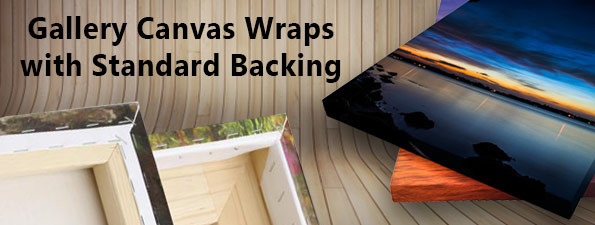 Gallery Canvas Wraps - Standard Backing