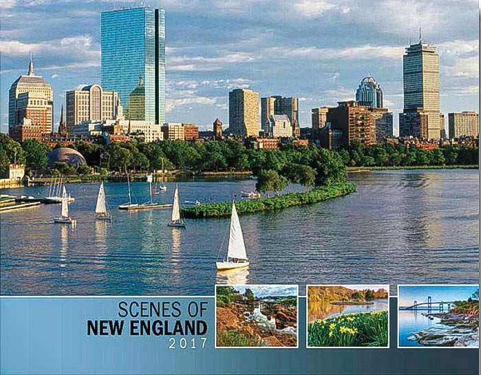 Thomas Schoeller photography published in Scenes Of New England 2017 annual calendar