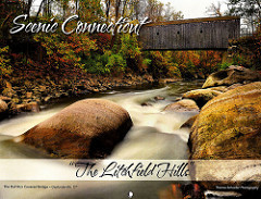 "Scenic Connecticut ""the Litchfield Hills"" calendar featuring Connecticut's own fine art photographer Thomas Schoeller"