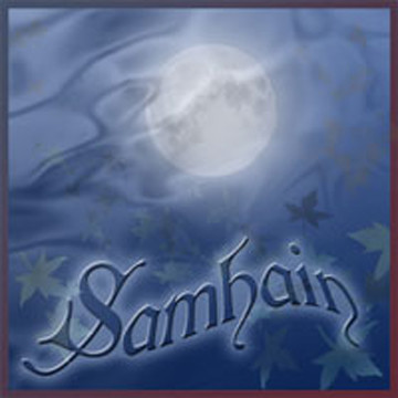 Send great greeting cards for Samhain with art by Melissa A Benson
