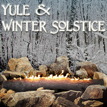 Send great greeting cards for Yule with art by Melissa A Benson