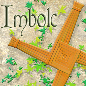 Send great greeting cards for Imbolc with art by Melissa A Benson