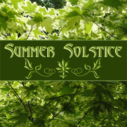 Send great greeting cards for the Summer Solstice with art by Melissa A Benson