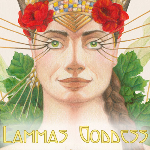 Send great greeting cards for Lughnasadh with art by Melissa A Benson