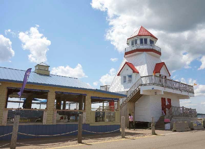 Sandbar Restaurant, Pointe du Chene Wharf, New Brunswick, Canada