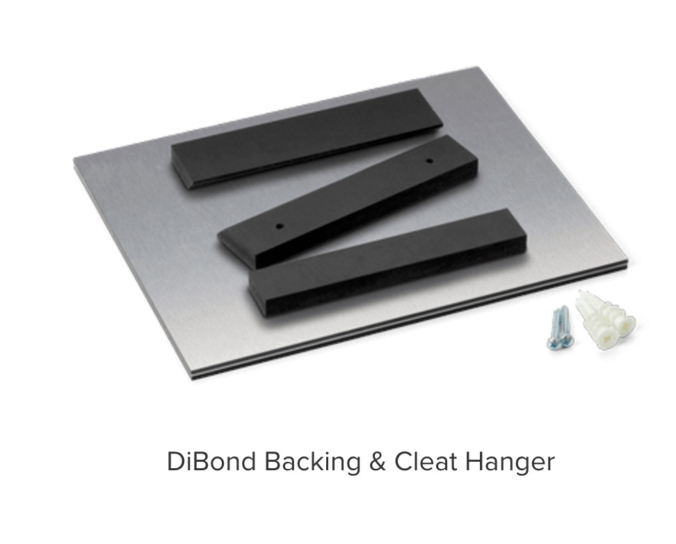 DiBond Acrylic French Cleat Mount