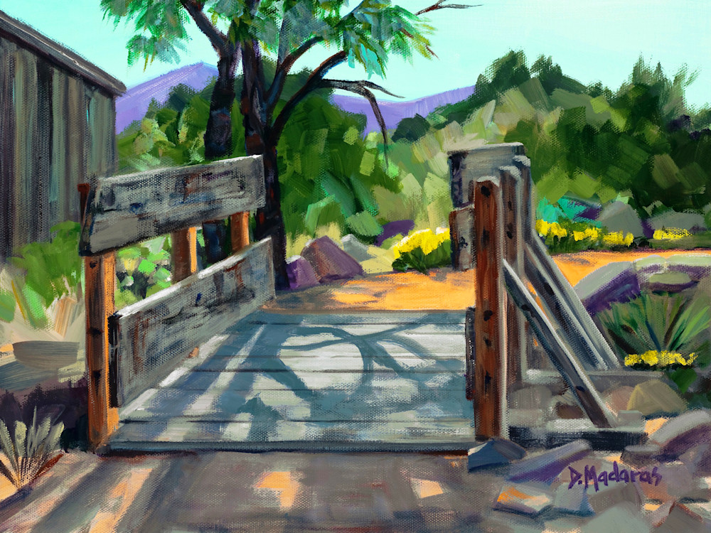 Southwest Art | Bridge in Tombstone