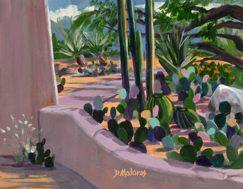 Southwest Art | Pink Adobe