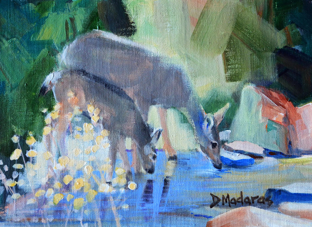 Southwest Art | Mule Deer