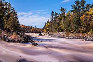 Jay Cooke State Park - Autumn Flow 1 Fine Art Photography by William Drew Photography