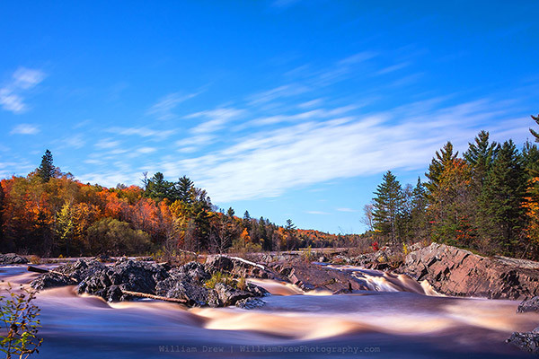 Jay Cooke State Park - Autumn Flow 2 - William Drew Photography