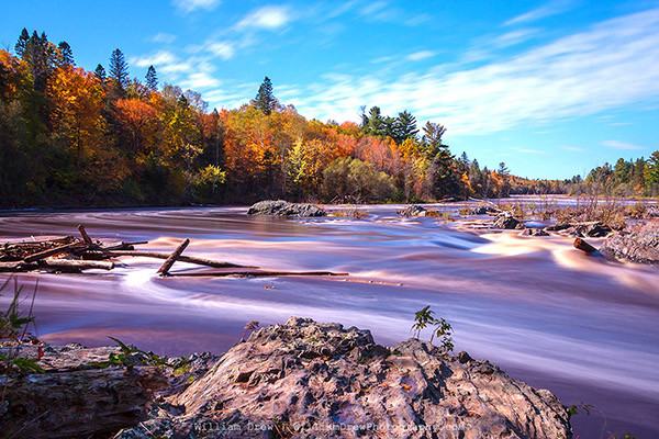 Jay Cooke State Park - Autumn Flow 3 - William Drew Photography