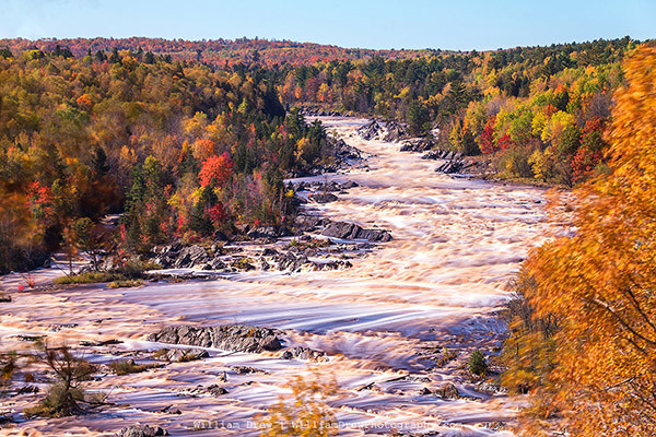 Jay Cooke State Park - Autumn Flow 4 - William Drew Photography