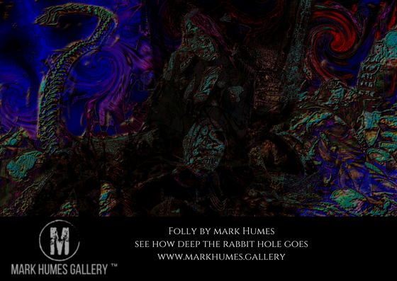Art by Mark Humes: Folly promotional version