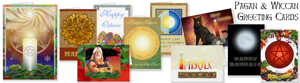 Pagan and Wiccan greeting cards