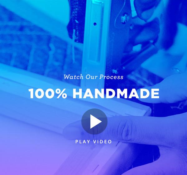 100% Handmade Canvas Prints