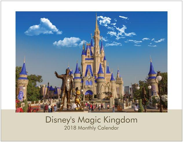 Disney's Magic Kingdom 2018 Wall Calendar Cover