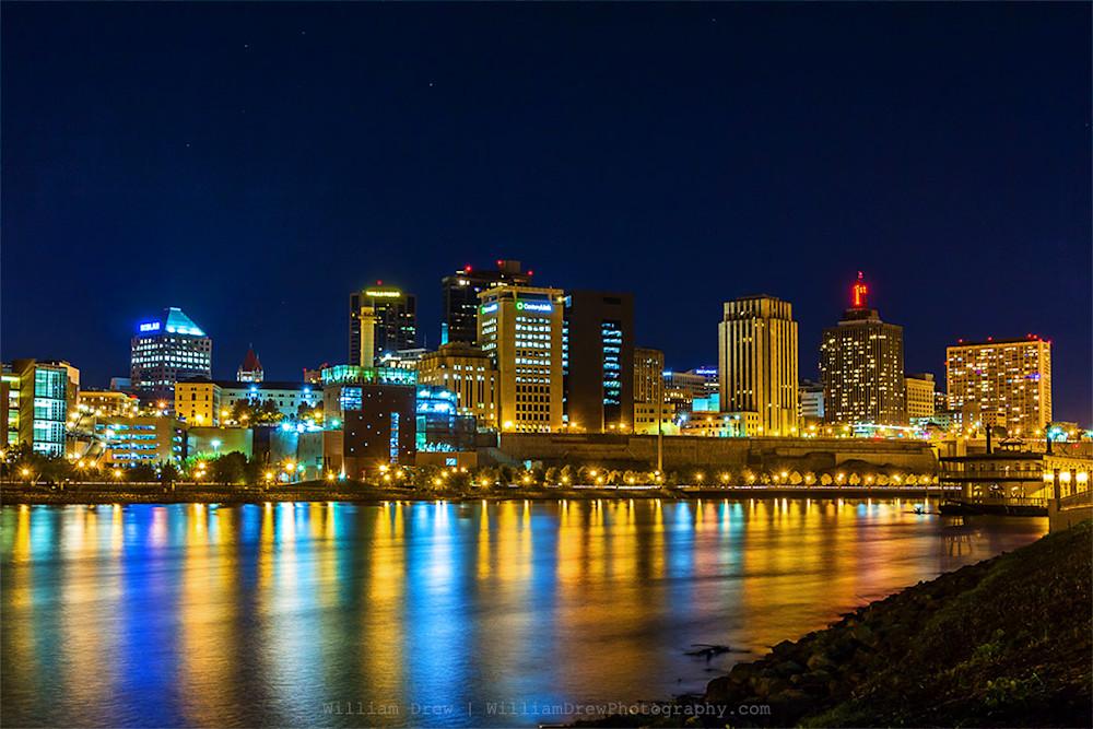 Downtown Saint Paul Photograph for sale as Fine Art