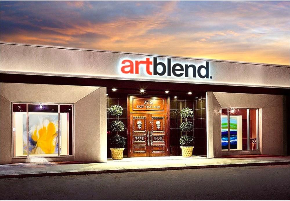 Artblend Gallery Storefront