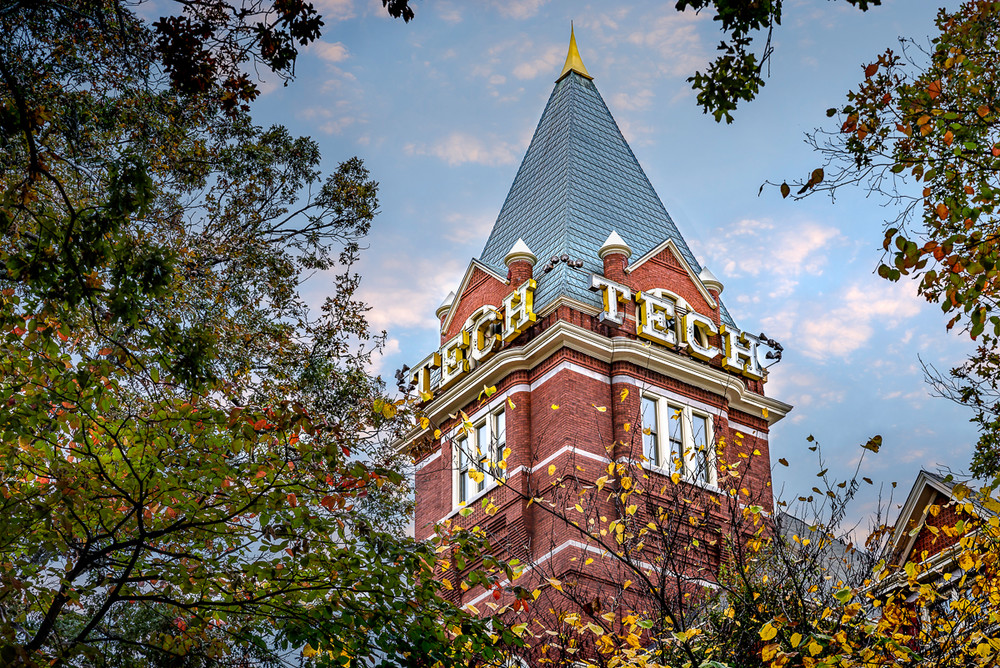 The tower at Georgia Tech