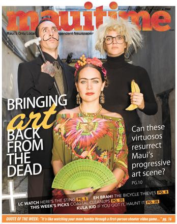 Maui TIme Cover Story