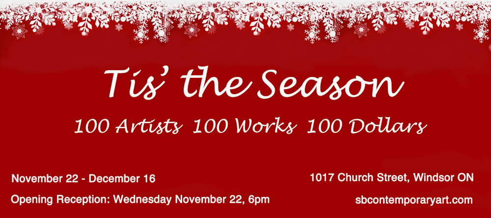 Invitation to Tis the Season Art Show December 2017