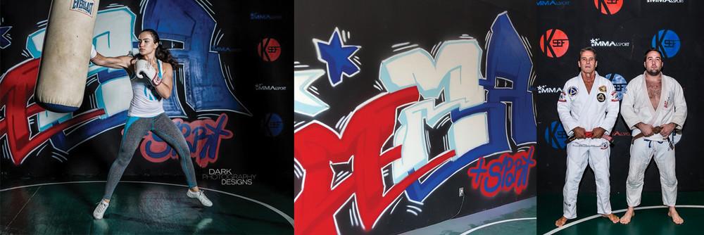 MMA Mural