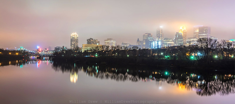 Minneapolis in November - Minneapolis Art For Sale | William Drew Photography