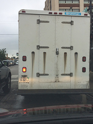 Back of another truck