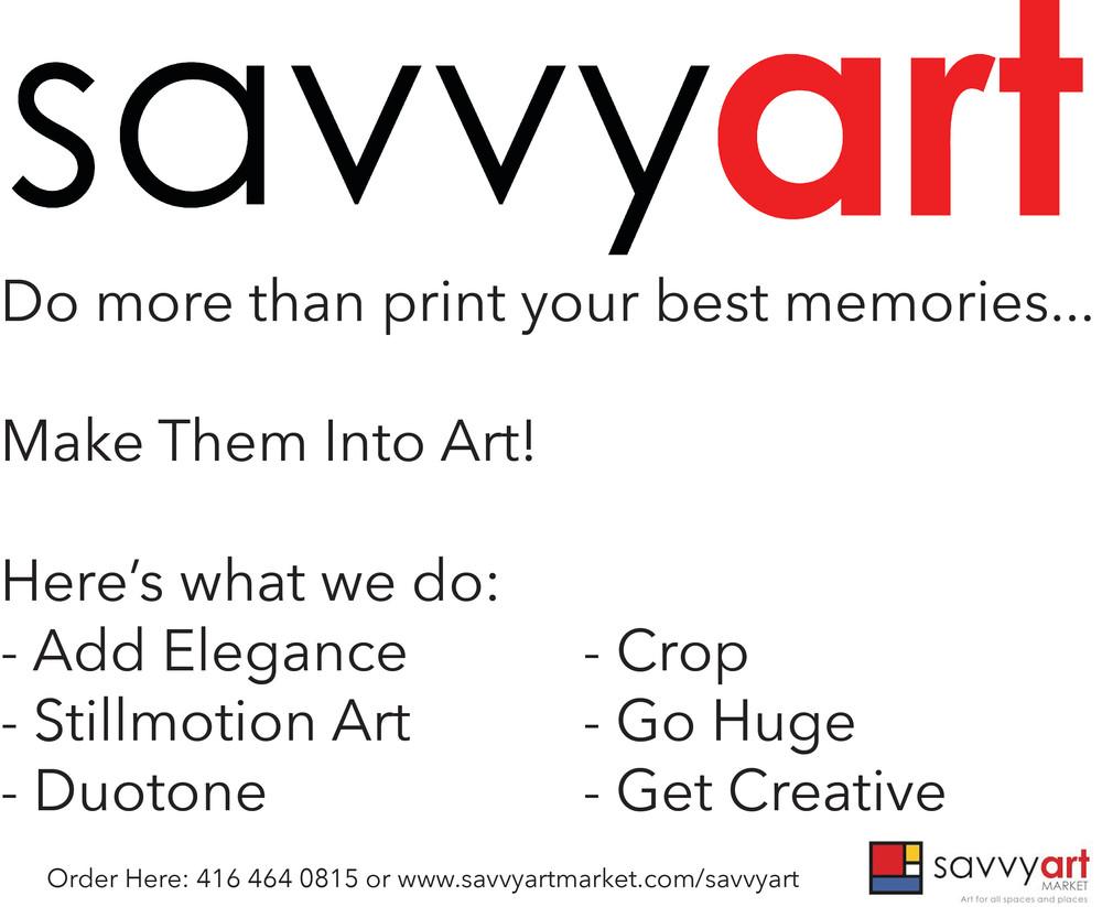 SavvyArt: Make Your Memories Into Art