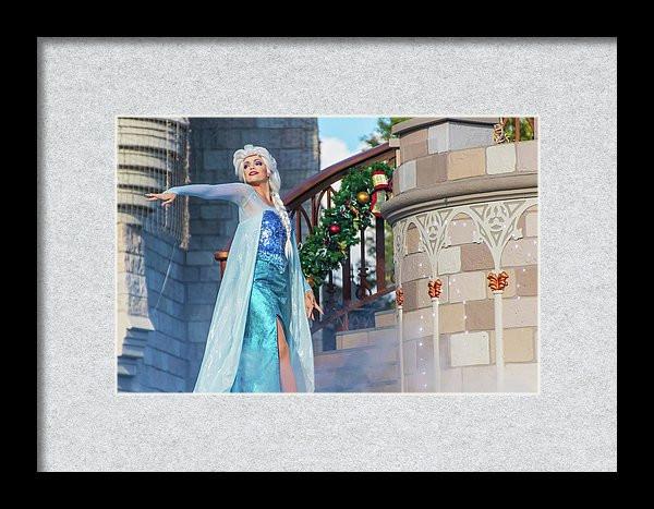 Queen Elsa - Disney Framed Art   William Drew Photography
