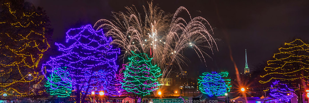 Christmas Art - Holidazzle Fireworks 3