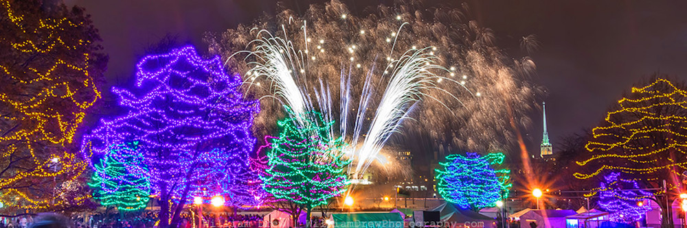 Christmas Wall Art - Holidazzle Fireworks 4