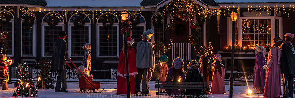 Christmas Artwork - Merry Christmas from Minnesota | William Drew Photography